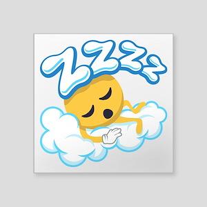 "ZZZZ Square Sticker 3"" x 3"""