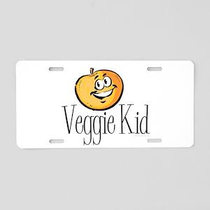 Veggie Kid Aluminum License Plate