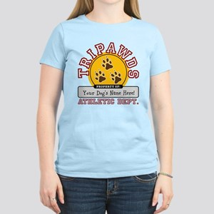 Tripawds Athletic Dept. Women's Light T-Shirt