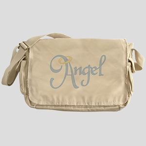 Angel Text Messenger Bag