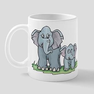 Elephant Duo Mug