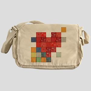 Shipping Love Messenger Bag