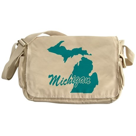 State Michigan Messenger Bag