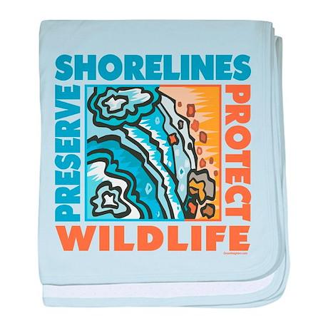 Preserve Beaches baby blanket