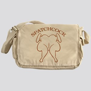 Spatchcock Chicken Messenger Bag