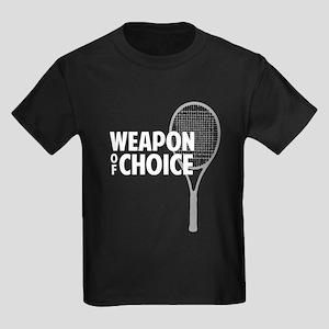 Tennis - Weapon Kids Dark T-Shirt