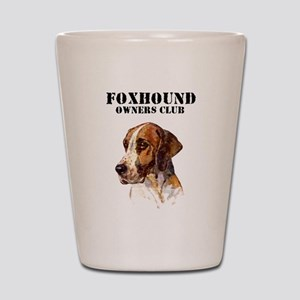 Foxhound Owners Club Shot Glass