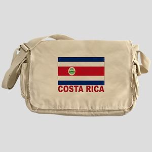 Costa Rica Flag Messenger Bag