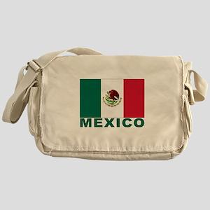Mexico Flag Messenger Bag