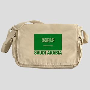 Saudi Arabia Flag Messenger Bag