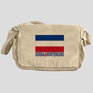 Serbia And Montenegro Messenger Bag