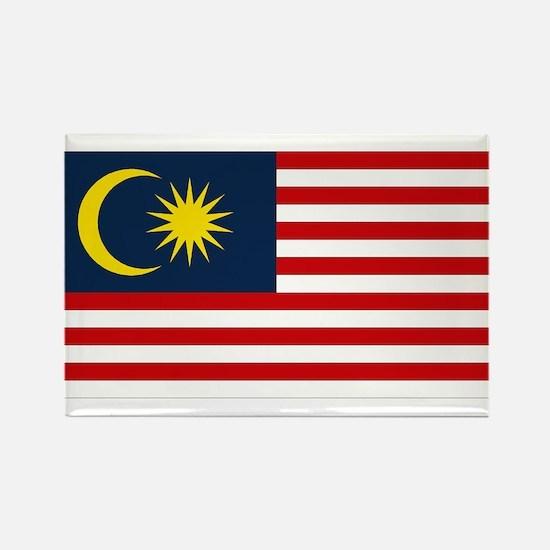 Malaysian Flag Rectangle Magnet
