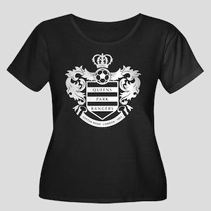 Queens Park Rangers Crest Plus Size T-Shirt