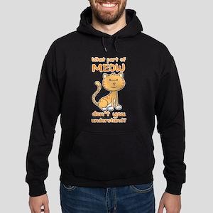 Part of Meow Hoodie (dark)