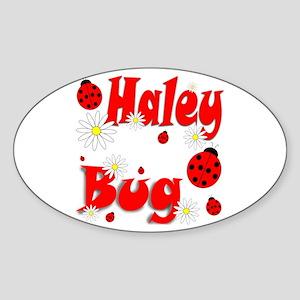 Haley Bug Sticker (Oval)