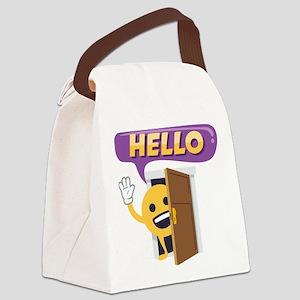 Hello Canvas Lunch Bag