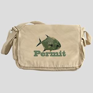 Record Permit Messenger Bag
