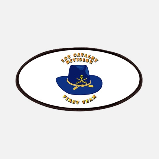 Army - 1st Cav - 1st Team Patches