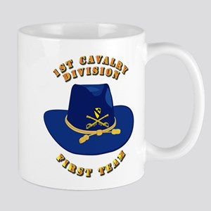 Army - 1st Cav - 1st Team Mug