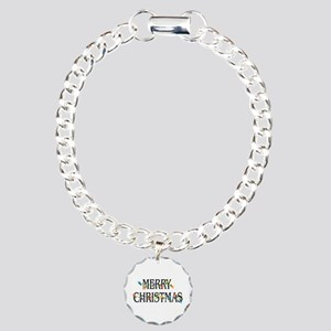 Merry Christmas Charm Bracelet, One Charm