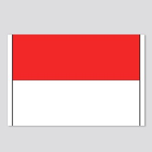 Flag of Monaco Postcards (Package of 8)