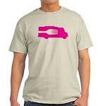 Food Truck: Side/Fork (Pink) Light T-Shirt