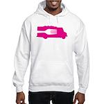 Food Truck: Side/Fork (Pink) Hooded Sweatshirt