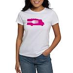 Food Truck: Side/Fork (Pink) Women's T-Shirt