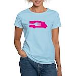 Food Truck: Side/Fork (Pink) Women's Light T-Shirt