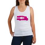 Food Truck: Side/Fork (Pink) Women's Tank Top