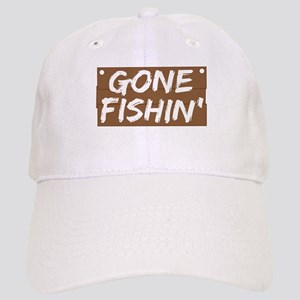 Gone Fishin' (Fishing) Cap