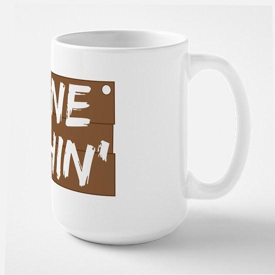 Gone Fishin' (Fishing) Large Mug