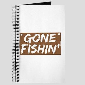 Gone Fishin' (Fishing) Journal