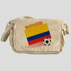 Colombia Soccer Team Messenger Bag