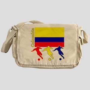 Colombia Soccer Messenger Bag