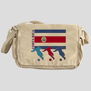 Costa Rica Soccer Messenger Bag