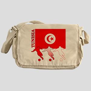 Tunisia Soccer Messenger Bag