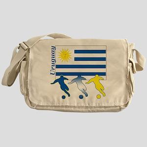 Uruguay Soccer Messenger Bag