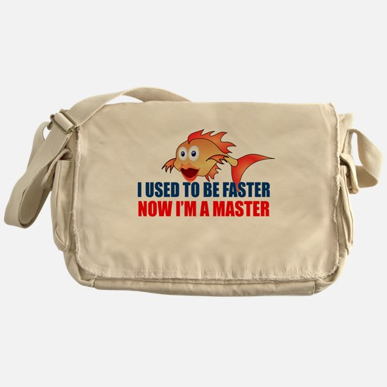 Used to be Faster Messenger Bag