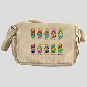 Nesting Dolls Messenger Bag