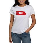 Food Truck: Side/Fork (Red) Women's T-Shirt