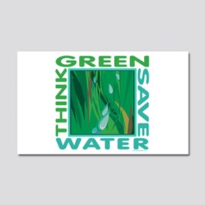 Water Conservation Car Magnet 20 x 12