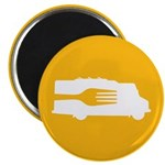 Food Truck: Side/Fork (Yellow) 2.25