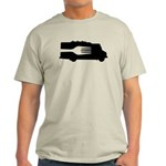 Food Truck: Side/Fork (Black/White) Light T-Shirt