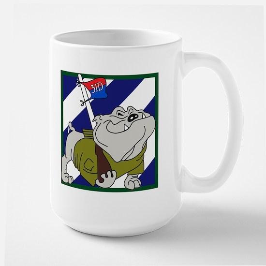 3ID Rocky Bulldog Large Mug