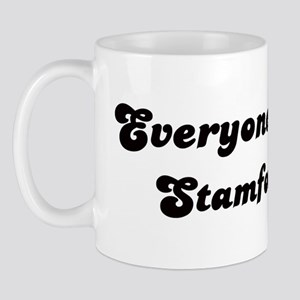Loves Stamford Girl Mug