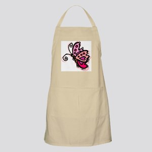 Pink Butterfly103 BBQ Apron