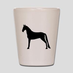 Tennessee Walking Horse Shot Glass