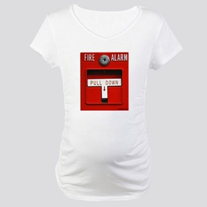 FIRE ALARM Maternity T-Shirt