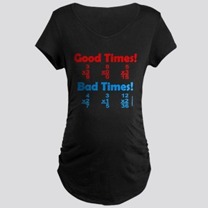 MATH/MATHEMATICS Maternity Dark T-Shirt